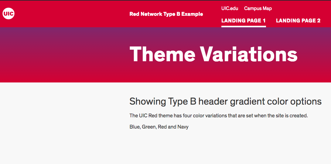 screenshot of red theme variation