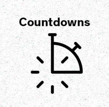 Icon representing countdown posts