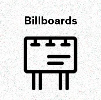 Icon representing Billboards post
